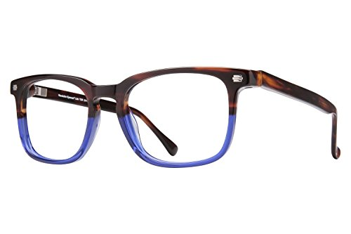Revolution Mens Eyeglasses - Revolution Lido Men's Eyeglass Frames - Tortoise/Grey Clip-On