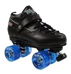 Skate Out Loud Rock GT 50 Outdoor Roller Skates Boot Color: Black   Size: 11