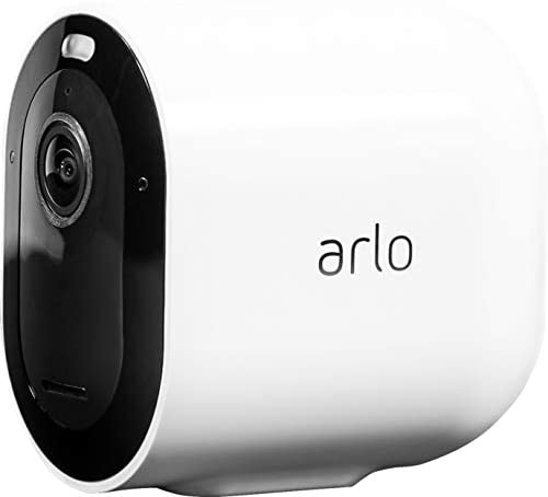 Arlo Pro 3 Spotlight Camera 6 Camera Security System Wire-Free, 2K Video HDR Color Night Vision, 2-Way Audio, 6-Month Battery Life, Motion Activated, 160 View Works with Alexa White