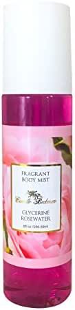 Camille Beckman Fragrant Body Mist, Alcohol Free, Glycerine Rosewater, 8 Ounce