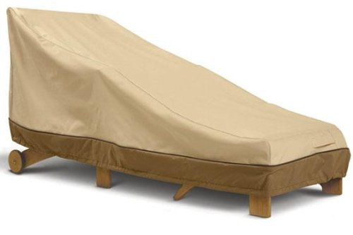 Classic Accessories Veranda Day Chaise Cover - Large, 78 Inches (Crate And Barrel Furniture Outdoor)