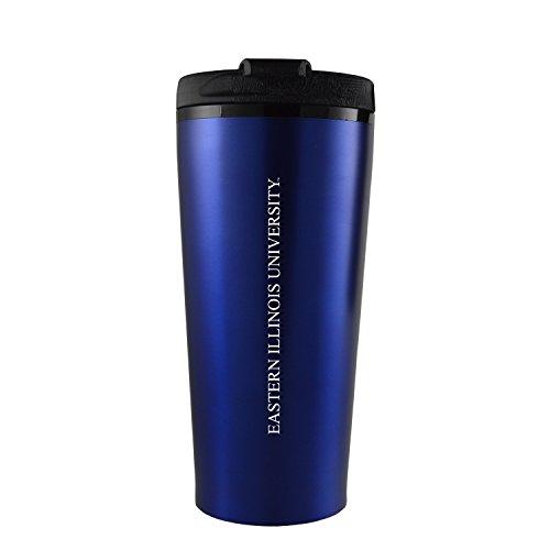 Eastern Illinois University -16 oz. Travel Mug Tumbler-Blue