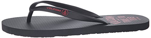 Volcom Herren Zehentrenner Sandale ROCKER Sandal - RED COMBO Red combo