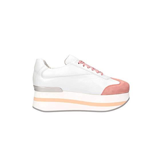 Shoes Blanco Zapatillas Cuero D19181biancorosawhite Mujer Mg Magica T5qSwxv