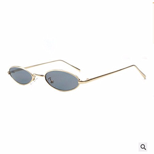 Ceniza Gafas de Liuxc Gafas Sol de Negra de Cenizas Gafas negro Mujer Marco Pequeñas de con Sol sol qHtc6Bpt