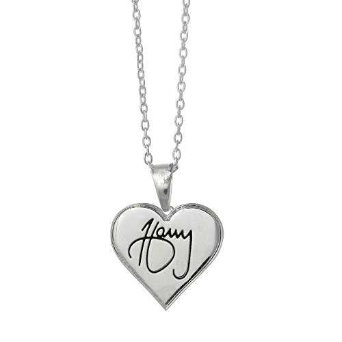 One Direction 'Harry Signature' Heart Necklace (Necklaces One Direction compare prices)