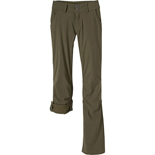 prAna Women's Short Inseam Halle Pant, 0, Cargo Green by prAna (Image #6)