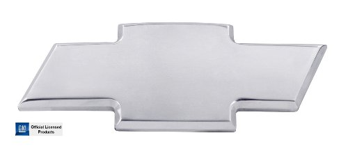 (AMI 96020P Chevy 08-12 Malibu Front Bowtie Grille Emblem Without Border- Polished)