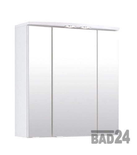 3D Spiegelschrank günstig 60cm, weiß: Amazon.de: Küche ...