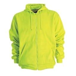 Men\'s Berne Apparel Regular Original Hooded Sweatshirt, Yellow, 3XL Tall