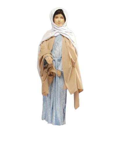 [Girl's Virgin Mary Theater Costume, Large] (Girls Virgin Mary Costume)