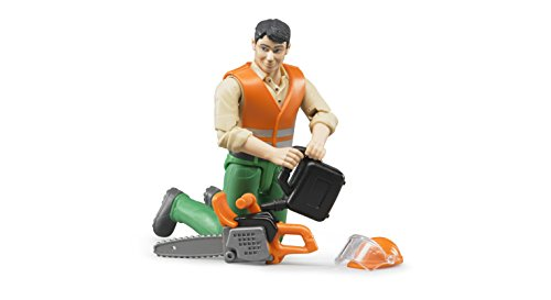 Bruder Logging Man with Accessories