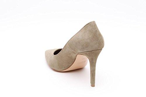 Les autres scarpa decollete donna kaki