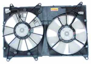 TYC 620810 Toyota Highlander Replacement Radiator/Condenser Cooling Fan Assembly