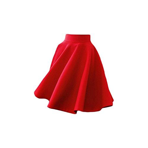 Rosso Yulan Falda Para Mujer Falda Yulan Rosso Mujer Para Yulan qq6rBzY