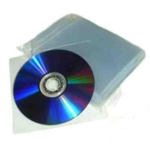 4 opinioni per eXpress Net 100 Buste in Plastica Trasparente per CD / DVD- Alta Qualità