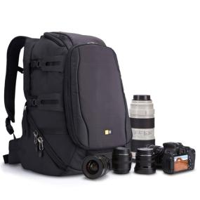 Case Logic DSB-103 Luminosity Large DSLR Split Pack with camera and accessories
