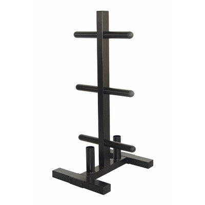 VTX Olympic Plate Rack and Bar Holder by Troy Barbell
