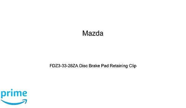 Mazda FDZ3-33-28ZA Disc Brake Pad Retaining Clip