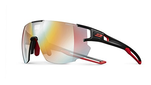 a9ac24c49ce Julbo Aerospeed Sunglasses - Zebra Light - Black Red Red