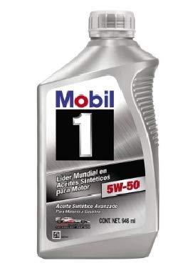 MOBIL Aceite 5W50 Sintetico 946L