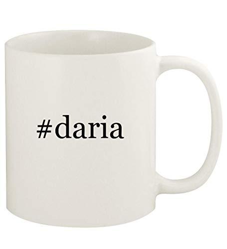 #daria - 11oz Hashtag Ceramic White Coffee