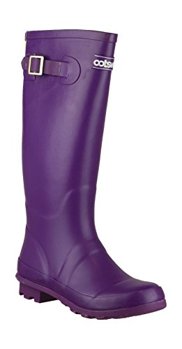 Cotswold - Purple - Pull-On Wellingtons - Size 3 4 5 6 7 8 púrpura - morado