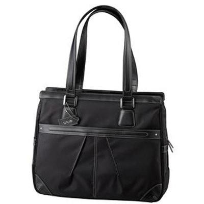 Sony VAIO VGP-AML4 Ladies Tote for 15.4-Inch and Smaller Notebook PCs (Black)