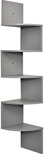 Greenco Mount Corner Shelves Finish product image