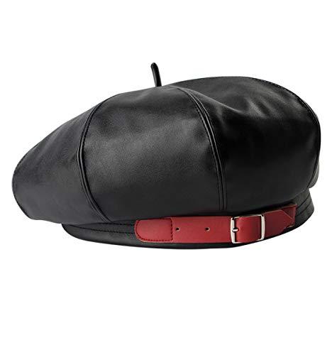 Clecibor Faux Leather Beret...