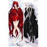 Anime WOW Anime Dakimakura pillow ack Buer Grell Sutcliff NK(150x50cm)