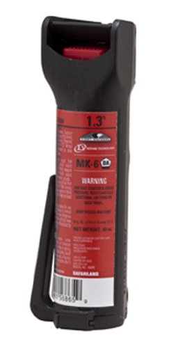 Defense Technology First Defense Oc Stream Mk 6 1 3  Solution Red Band Pepper Spray  0 68 Ounce
