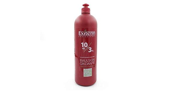 Exitenn, Negro, Emulsion OXIDANTE 3% 10VOL 1000 ml: Amazon.es ...