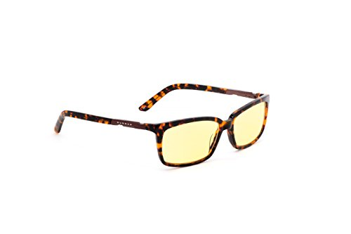 Haus Computer gaming glasses - block blue light, Anti-glare and minimize digital eye strain - Perform better, target objects on screen easier, prevent headaches, sleep better, reduce eye - Eyewear Optic
