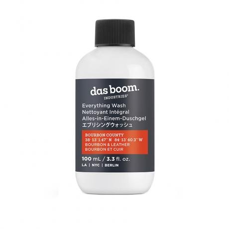 Das Boom Industries Bourbon County (Bourbon & Leather) Wash Travel Size