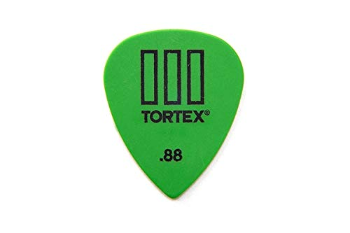 Dunlop 462 TORTEX TIII Picks (12-pack) green 0.88 mm