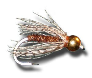 BH Pheasant Tail Soft Hackle Fly Fishing Fly - Size 16 - 3 Pack (Soft Hackle Nymph)