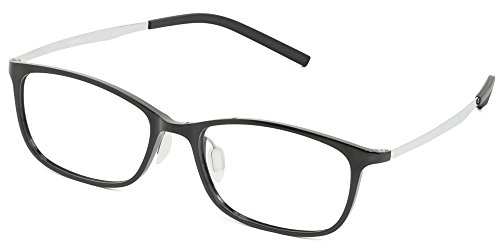 Blue Light Blocking Computer Gaming Glasses for Men Women [by Umizato] Clear Lens, PC Accessories - FDA Approved - Relieves Digital Eye Strain, UV Blocker, Anti-Glare, Anti-Fatigue (ORION in Black)