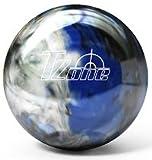 Brunswick TZone Indigo Swirl Bowling Ball (14-Pounds)
