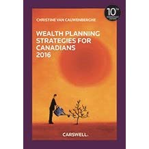 Wealth Planning Strategies for Canadians 2016