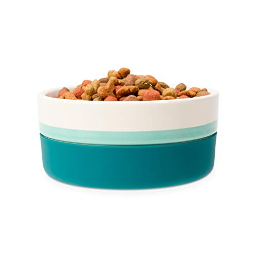 Now House by Jonathan Adler for Pets Ceramic Bowls and Durable Ceramic Pet Food Bowls | Great for Wet Food, Dry Food…
