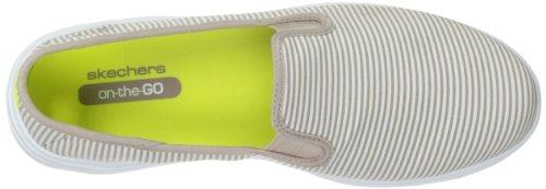 Sleek Preppy Walking Performance Go Taupe Womens Skechers Motion Shoe Walk xqIYZ0w0