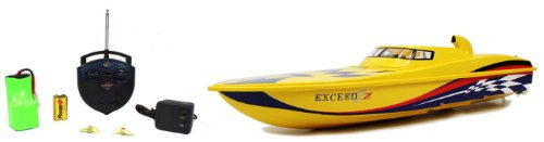 LARGE Electric Luxury Exceed Speed Boat High Speed Large RTR RC Boat Extremely Fast High Speed Remote Control Boat