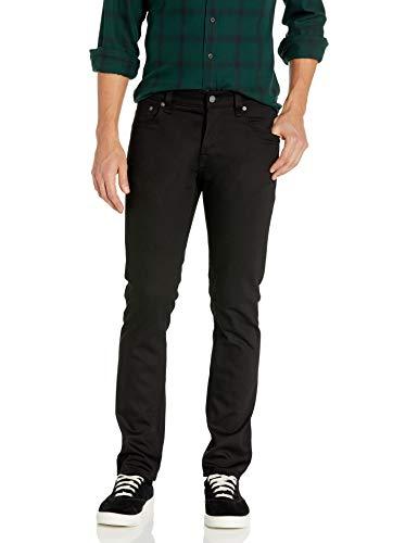 Nudie Jeans Men's Grim Tim Jean in Dry Cold Black