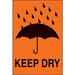Paper Keep Dry International Shipping Label - 6\