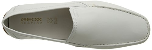 Geox Mens U Monet 23 Oxford White