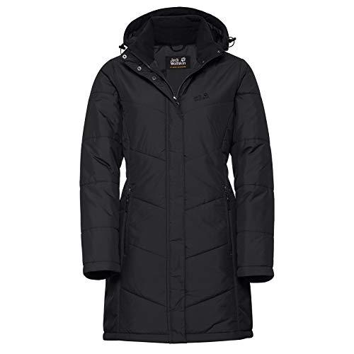 Jack Wolfskin Women's Svalbard Insulated Long Jacket, Black, Medium from Jack Wolfskin