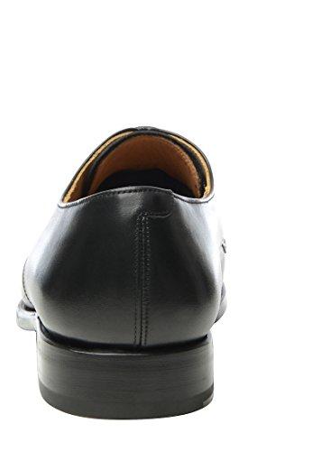 SHOEPASSION 533 Exklusiver Business, Freizeit- oder Auch Hochzeitsschuh für Herren. Rahmengenäht und Handgefertigt Aus Feinstem Leder. Schwarz