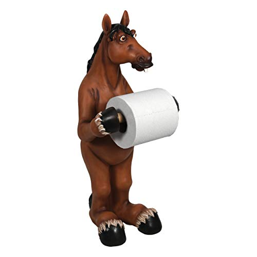 River's Edge Products Standing Horse Toilet Paper Holder