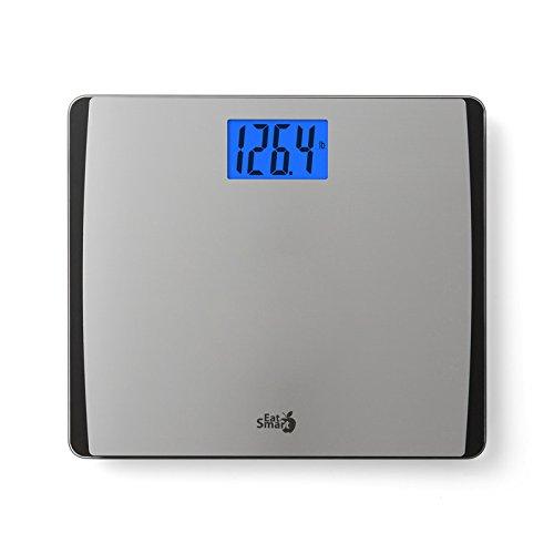 EatSmart Precision 550 Pound Extra-High Capacity Digital Bathroom Scale with Extra-Wide Platform